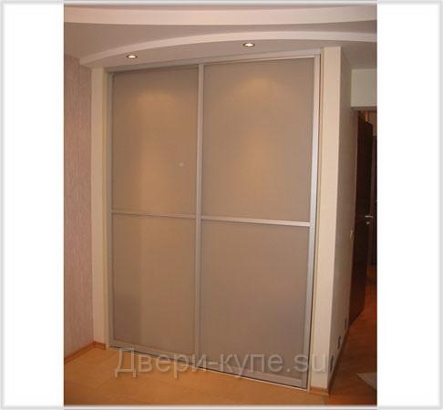 Фотокаталог: стеклянные двери-купе.