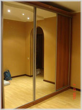Как сделать зеркальные двери для шкафа купе своими руками